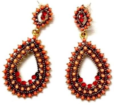 Fabiano JB 001 Beads Copper Drop Earring