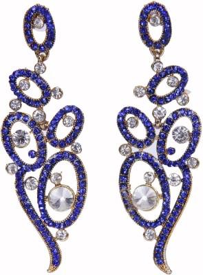 Traditsiya Floral Design Alloy Chandelier Earring
