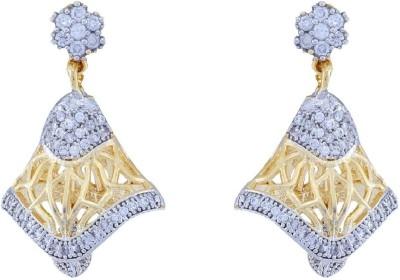 Jewlot Outstanding AD 2011 Brass Drop Earring