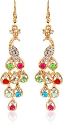 Moedbuille Beutifully Gorgeous Cubic Zirconia Alloy Dangle Earring