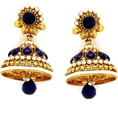 Ada Jewel zuhur Topaz Copper Jhumki Earring