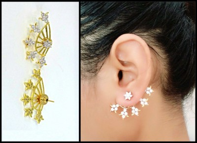 YouBella Style Diva Alloy Cuff Earring