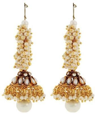 Jwells & More Stylish Charm Alloy Jhumki Earring