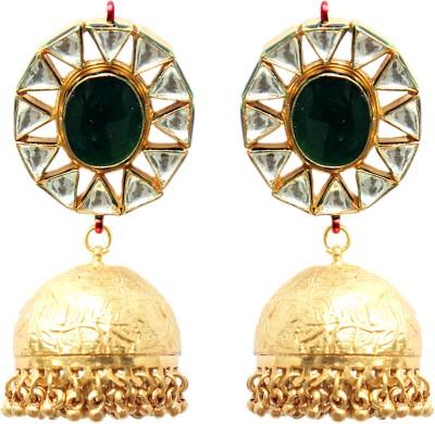 MKJewellers Copper Jhumki Earring