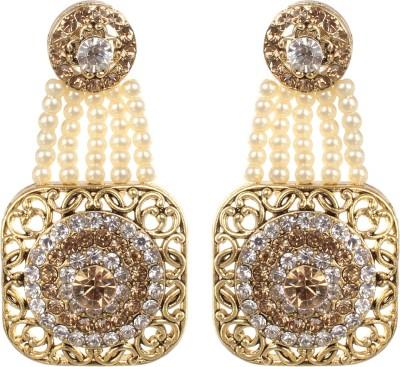 SAADGI Trendy Metal Chandelier Earring