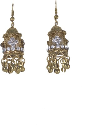 Aakhya JHM5 Alloy Jhumki Earring