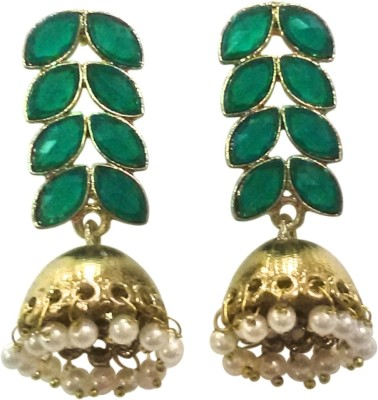 Deco Junction Fancy With Stone Alloy Jhumki Earring