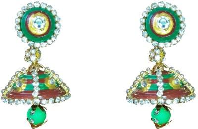 NKL Creations Nkl Creations Qj34 Paper Jhumki Earring