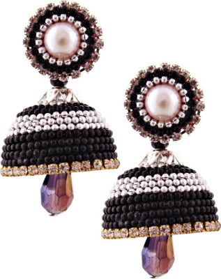 Halowishes EAR204 Paper Jhumki Earring