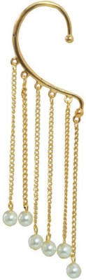 Gold & More Beautiful Alloy Cuff Earring