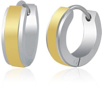 Vaishnavi Mini Non-Allergic Stainless Steel Huggie Earring