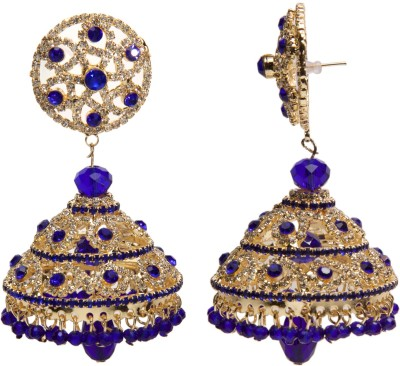 Medallion Collection Hangings Alloy Jhumki Earring