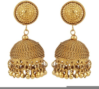 Bling N Beads Antique Alloy Jhumki Earring