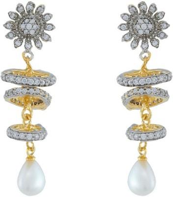 Jewlot Enchanting AD 2016 Brass Drop Earring