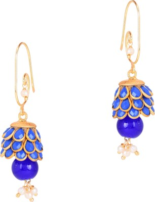 STUDIOB40 Pachi love Beads Alloy Jhumki Earring
