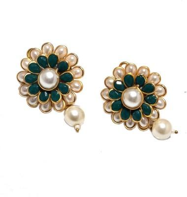 Jewar Mandi New Look Jewellery Cubic Zirconia Metal Stud Earring