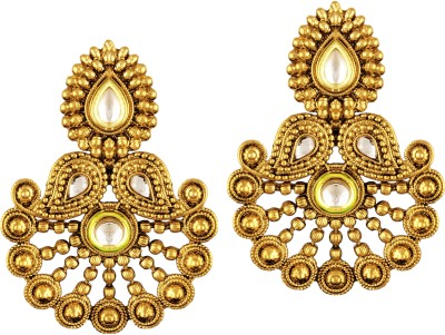 TAKSPIN Ethnic traditional bollywood ( Party Wear Indian jewellery) Alloy Drop Earring
