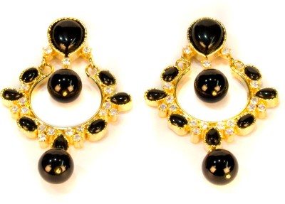 Amarsons Pearls Victorian Chand Bali Alloy Drop Earring