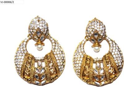 V4V Artificial Jewellery Metal Chandbali Earring