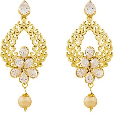 REEVA FASHION JEWELLERY Drop Zinc Chandbali Earring
