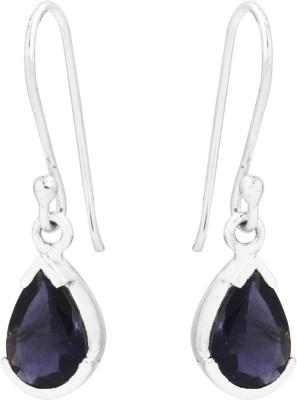 Kashvi Purple Beauty Quartz Silver Dangle Earring