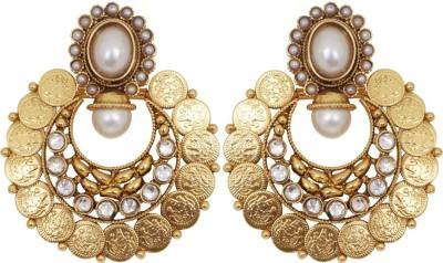 Jewelfin Trendy Alloy Chandbali Earring