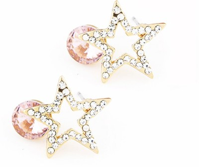 Cilver Fashion Gorgeous Star Shaped Alloy Stud Earring