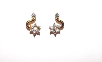 Kanishq Contemporary Alloy Stud Earring
