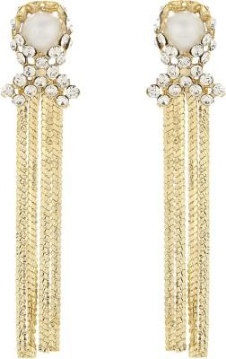 Aadyaa Collections Designer Alloy Dangle Earring