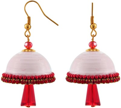 Halowishes EAR143 Paper Jhumki Earring