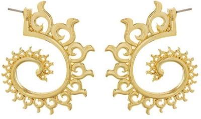 Savvy Designer Brass Cuff Earring