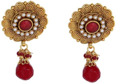 Jwells & More Dazzling Alloy Drop Earring