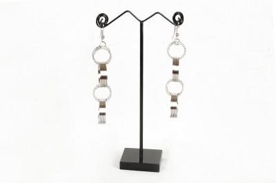 FreshMe Fashion Jewellery Pretty Good Steel Dangle Earring