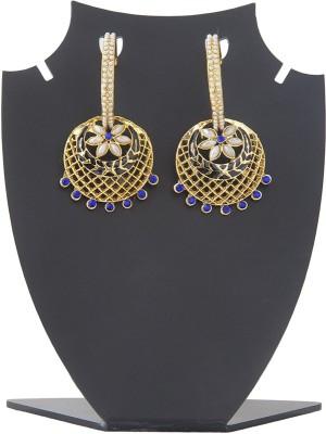 Aaina Home Decor Latest Copper Drop Earring