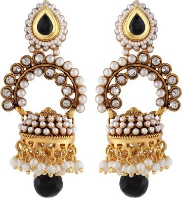 Aadi Creations Pearl Appeal Copper, Brass Jhumki Earring