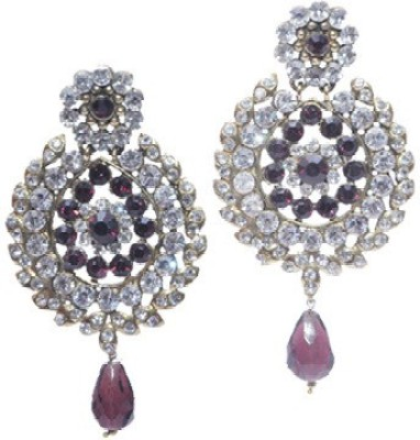 Buy Clues RCJ3032 Crystal Brass Drop Earring