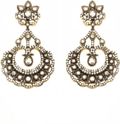 Joyas Traditional Brass Chandbali Earring
