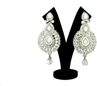 Tradeyard Jewel Zircon Alloy Drop Earring