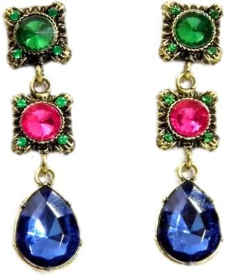 GiftPiper Multicolored Danglers Earring Alloy Earring Set