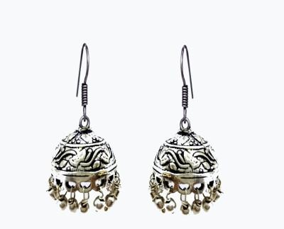 Gurjari SILROUND Brass Jhumki Earring
