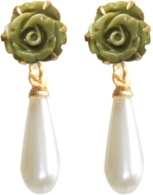 Ops Pearl Mother of Pearl Drop Earring