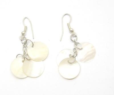 CFM Shell Dangles Metal, Shell Dangle Earring