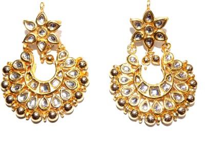 Jewels Kafe Ethnic Kundan Alloy Chandelier Earring