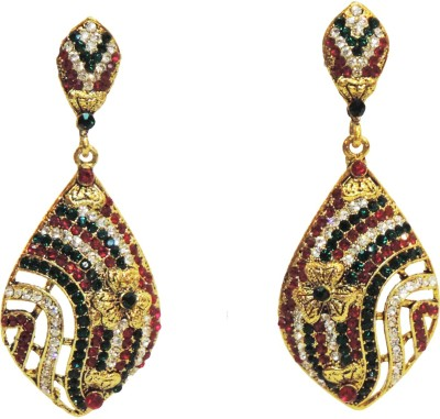 Traditsiya Exquisite Floral Alloy Drop Earring