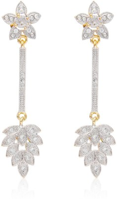 Jewels Galaxy Royal Collection Alloy Drop Earring
