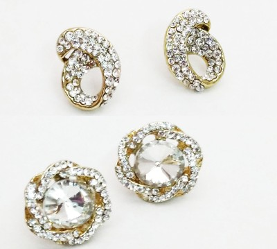 NEHASTORE Combo Offer CB26 Mother of Pearl Alloy Earring Set