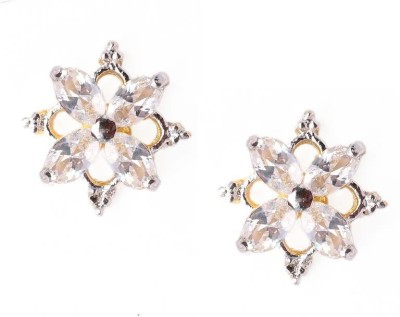 Vanshika Jewels Square Shaped Designer Alloy Stud Earring