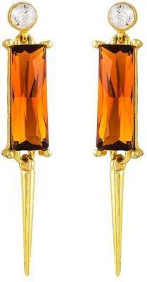 Savvy Designer Brass Dangle Earring