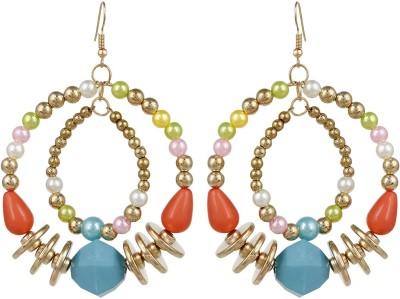 Lazreena Traditionaly Designed Alloy Dangle Earring