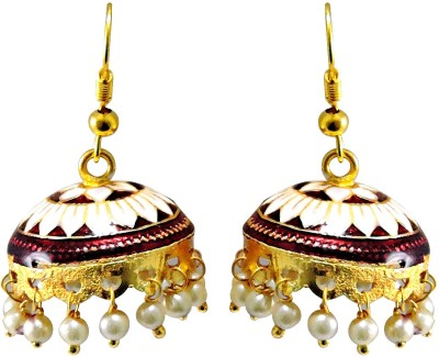 Cultural Fusion Jaipuri Jhumki Alloy Jhumki Earring